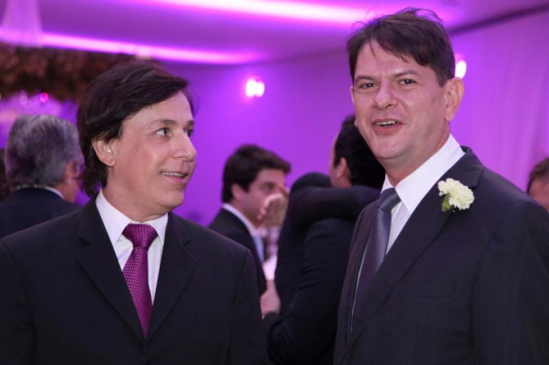 Tom Cavalcante e Cid Gomes