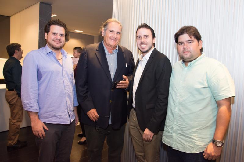 Humberto Fontenele, Luiz Fiuza, Andre Oliveira e Renan Cidrao