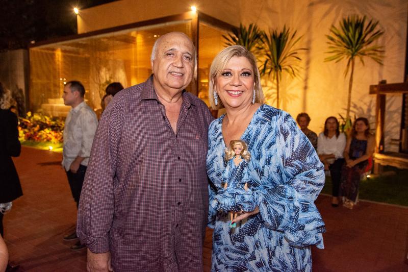 Epitacio Vasconcelos e Patricia Cavalcante