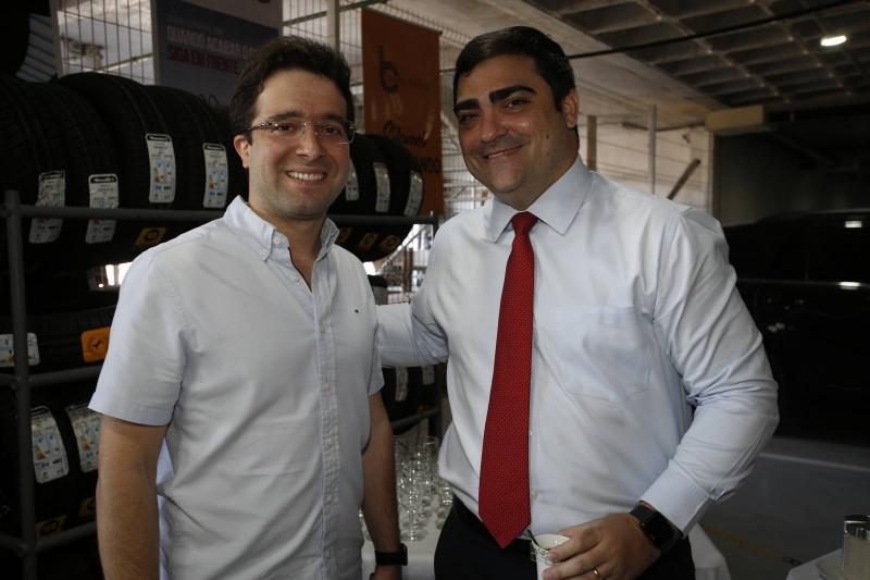 Lucas Pontes e Gabriel Magalhaes