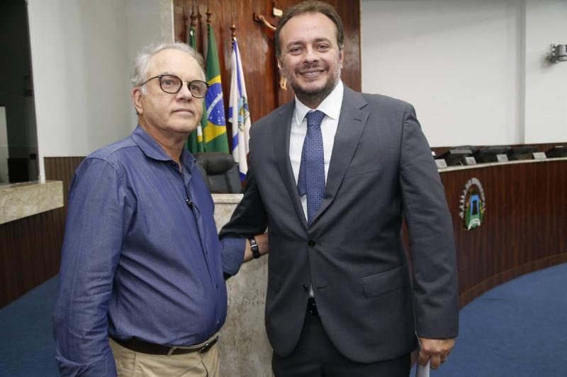 Romel Barbosa e Adriano Nogueira