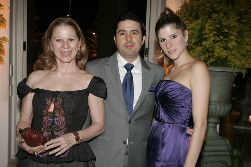 Ana Luiza, Daniel e Uliana Machado