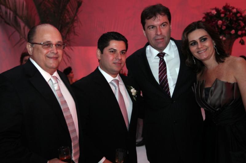 Philomeno Jr. Pompeu Vasconcelos, Betrand e Ivana Boris