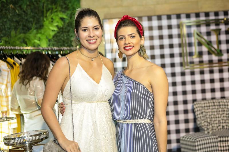 Natasha Melgaço e Graziele Albuquerque