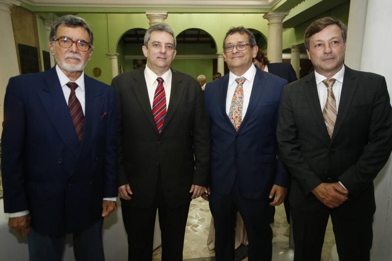Ascal Calvet, Joaquim Guedes Neto, Ze Gudes e Fernando Franco
