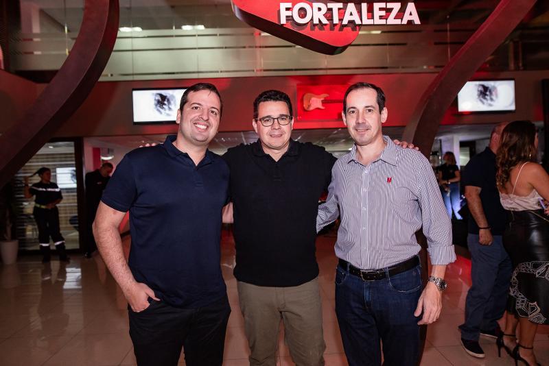 Rodrigo Ponte, Samuel Sicchhierolli e Marcelo Vargas