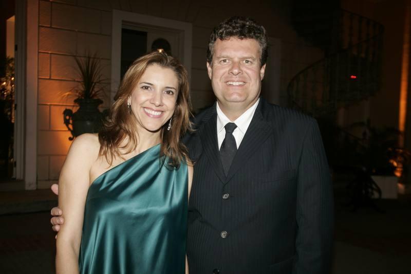 Eliziane e Evandro Colares
