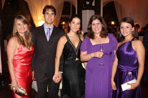 Michele Cabral, Hermes Braga, Livia Rola Braga, Ana Elisa Sidrin e Claryane Carvalho