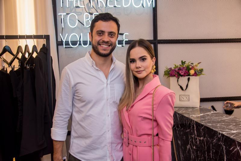 Bruno Bastos e Lara Dantas