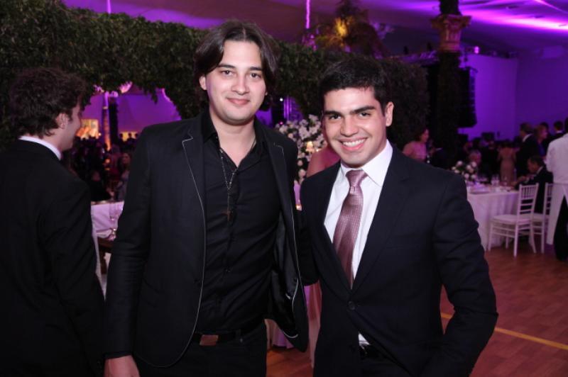 Lucas Guterres e Pedro Garcia