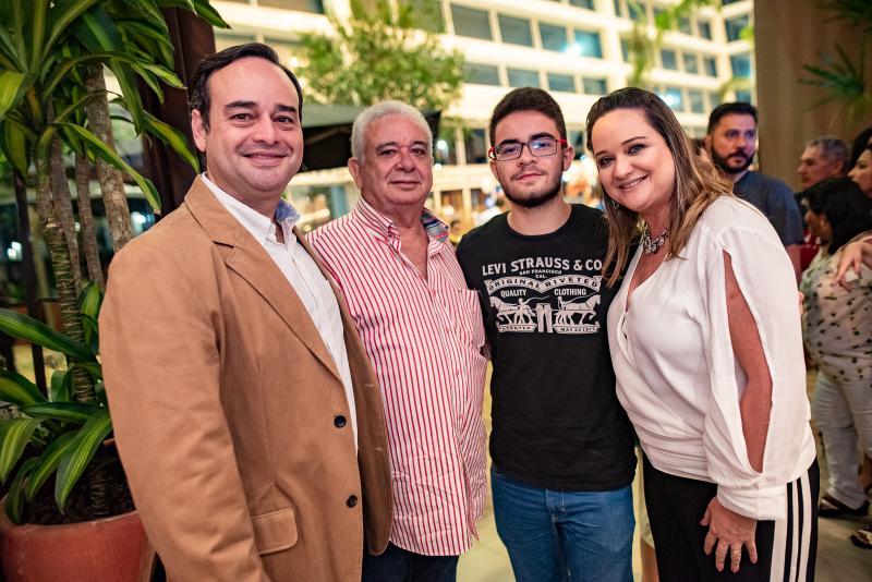 Davi The, Ivanoe Bezerra, Pedro Bezerra e Magda The