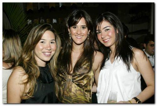 Carol Yamazaki, Marina Ary e Livia Feitosa