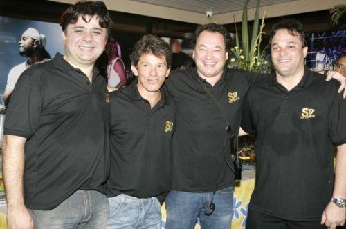 Alexandre Frota, Carvalhinho, Pedro Neto e Enio Carlos Cabral