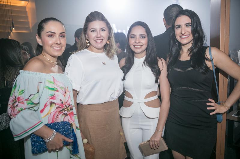 Ingrid Cidrao, Amanda Audiguere, Lais Tavares e Gabriela Benicio