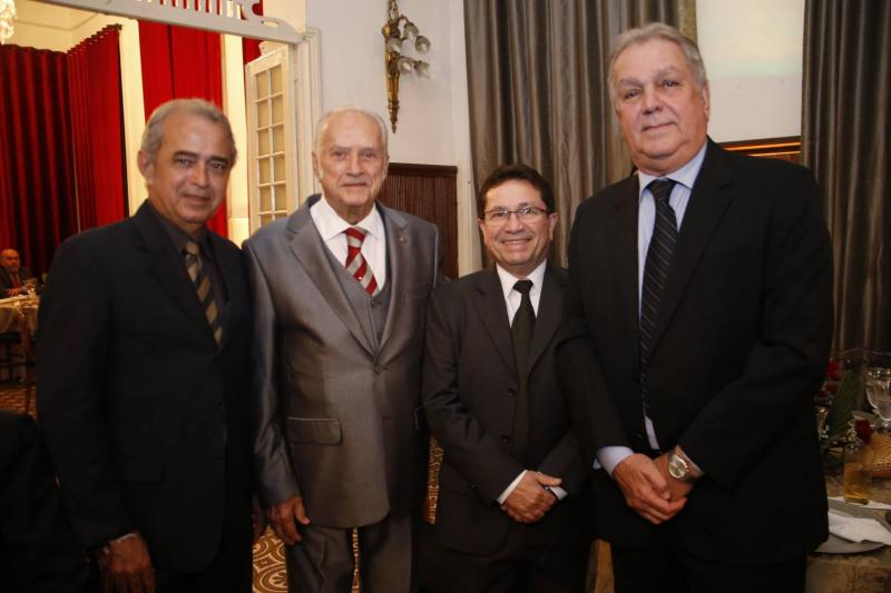 Erildo Pontes, Paulo Barbosa, Alcir Porto e Emanuel Sobral