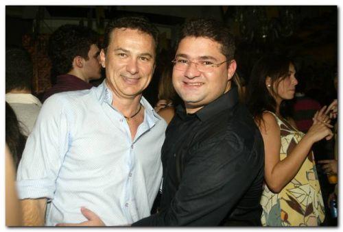 Carlos Pimentel e Mario Queiroz