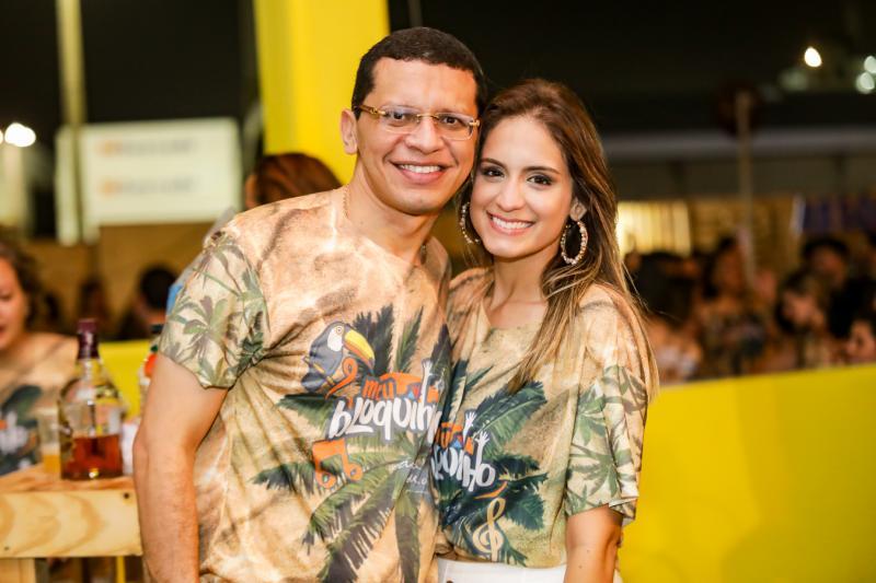 Renato Lima e Luana Felipe