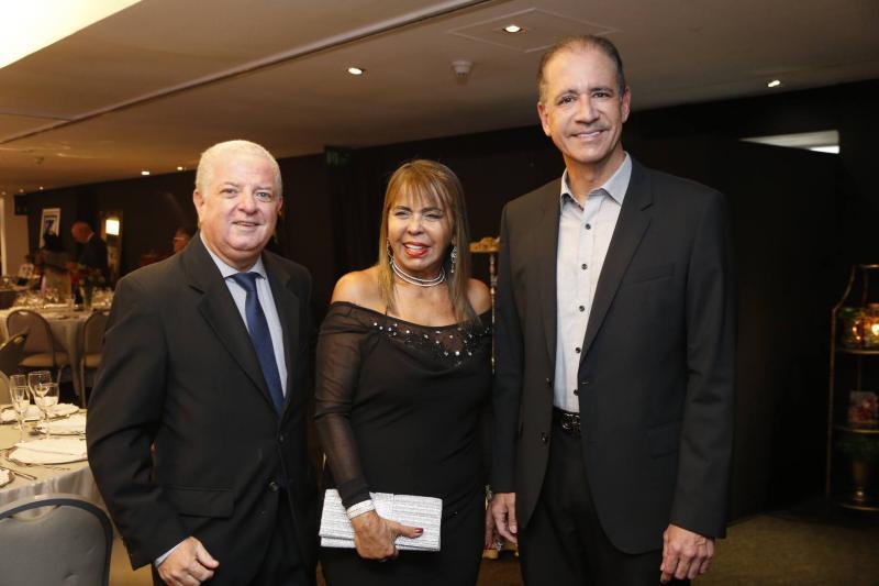 Guido Ciarline, Selma Cabral e Regis Medeiros