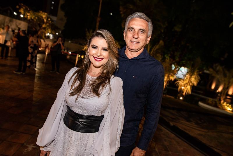 Adelina Feitosa e Luciano Cidrao