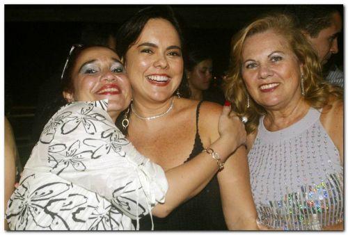 Rita Emilia, Denise Cavalcante e Lucia Lucena