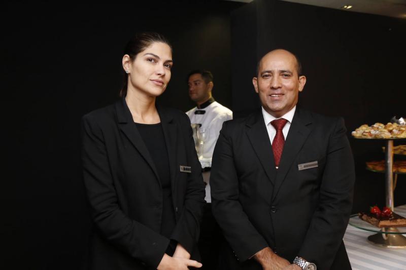 Liana Lins e Luiz Carlos