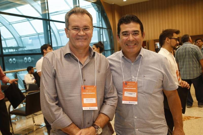 Sergio Macedo e Marcos Augusto