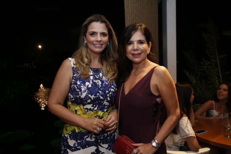 Tais Pinto e Maria Lucia Carapeba