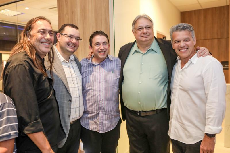 Rodrolphe Trindade, Mosiah Torgan, Rodrigo Pereira, Moroni Torgan e Ferruccio Feitosa
