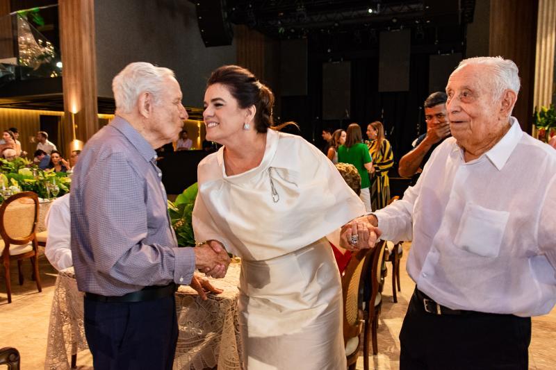 Humberto, Silvana e Adauto Bezerra