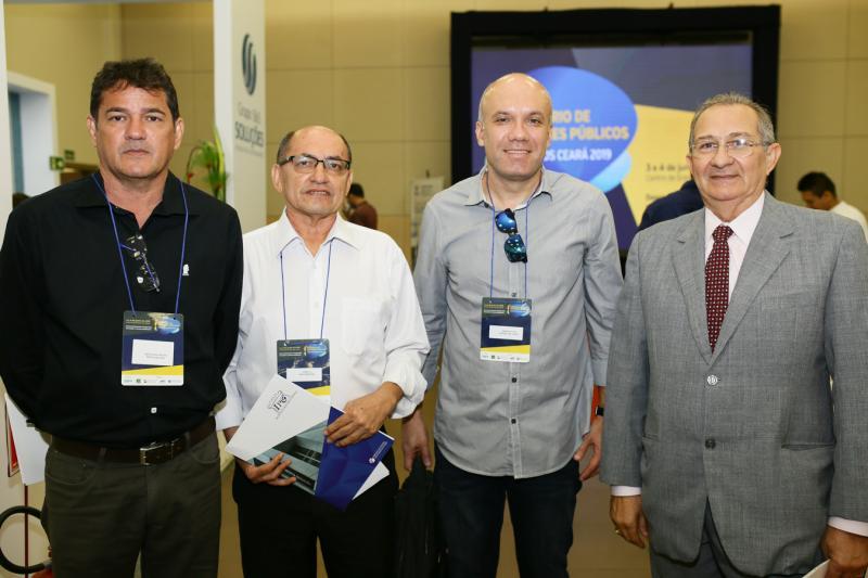 Anisio Nocrato,Paulo Virgilho, Marcio Nogueira e Caubi de Castro