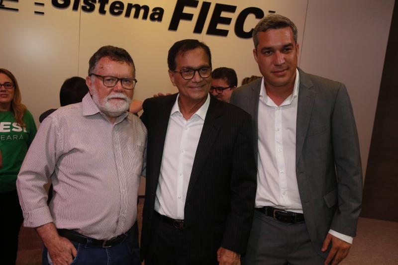 Marcos Albuquerque, Beto Studart e Mark Augusto