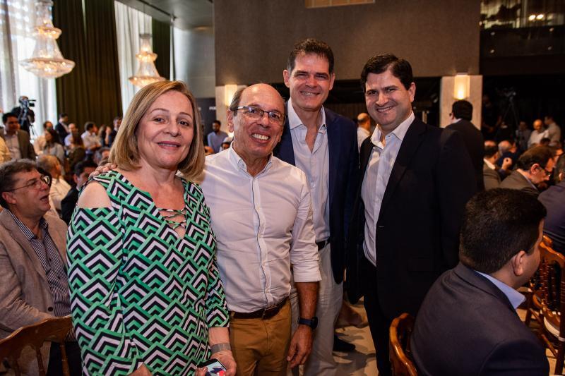 Maria Henriqueta, Andre Montenegro, Clausens Duarte e Paulo Machado