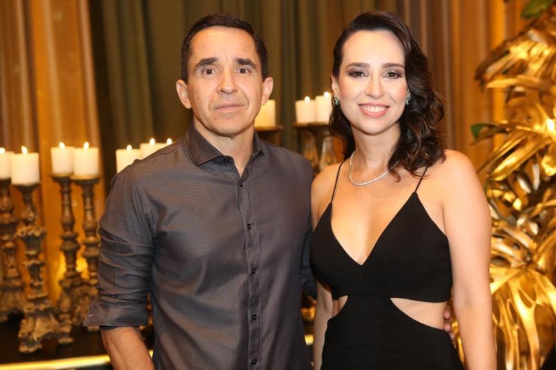 Julio Saraiva e Luciana Lobo