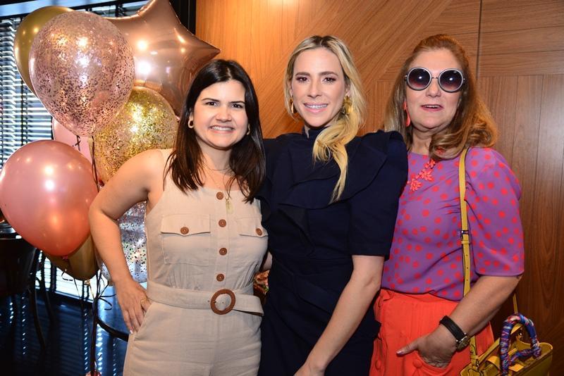 Ticiana Brigido, Martinha Freire e Joria Araripe