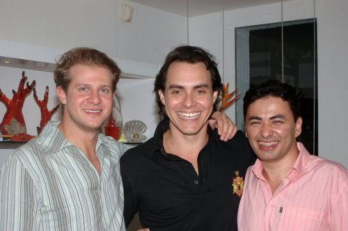 Alexandre Anesi, Francisco Campelo e Tiago Filgueiras.