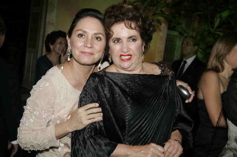 Paula Frota e Leda Maria