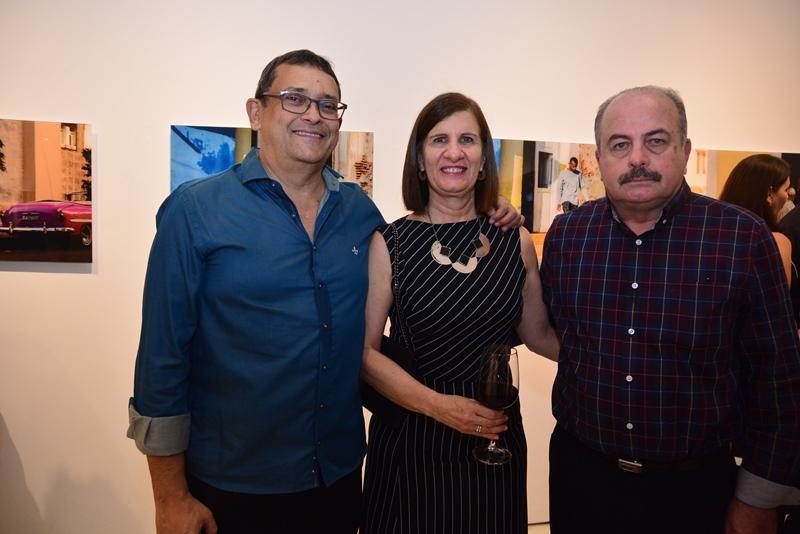 Jose Guedes, Elizabeth Daher e Ademar Gondim