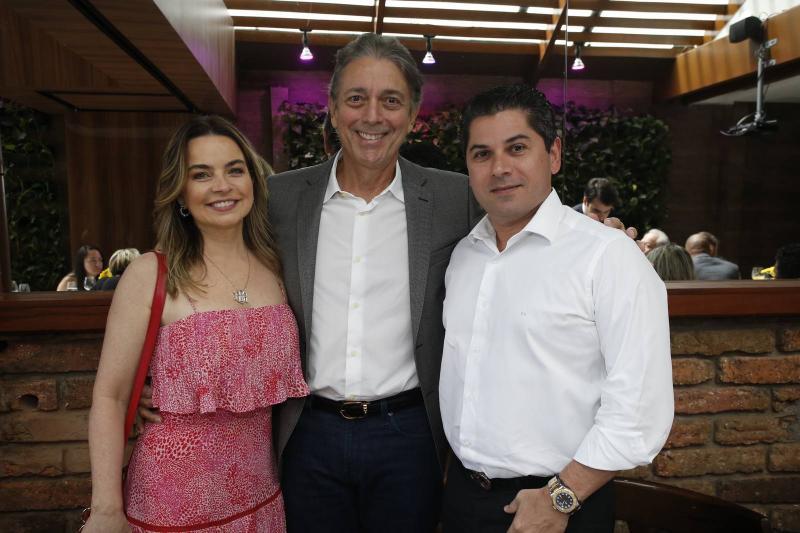 Daniele e Afranio Barreira e Pompeu Vasconcelos