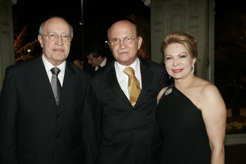 Lucio Alcantara, Joao Soares e Iracema do Vale
