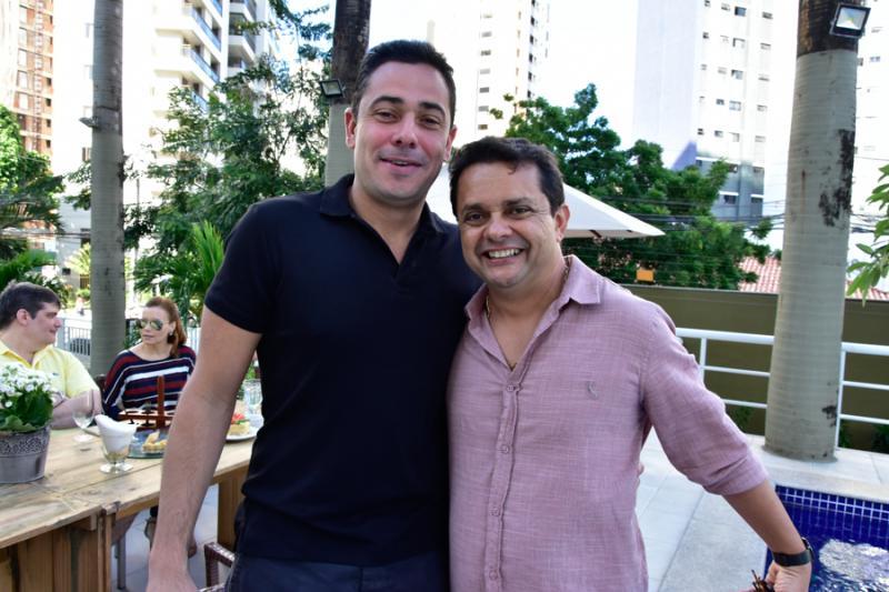 Marcelo Parente e Germano Albuquerque