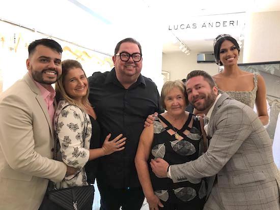 Célia Bezerra participa de evento com o renomado beauty artist Júnior Mendes