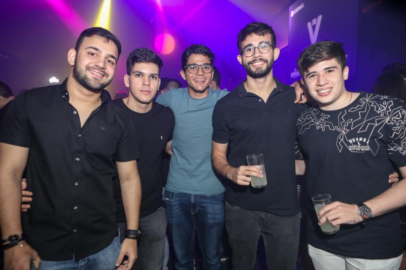 Edilson Junior, Junior Dias, Breno Bezerra, Caio Holanda e Armando Nicodemos