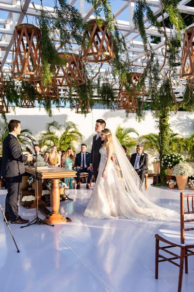 Cerimonia de Erica Dantas e Pedro Vasconcelos