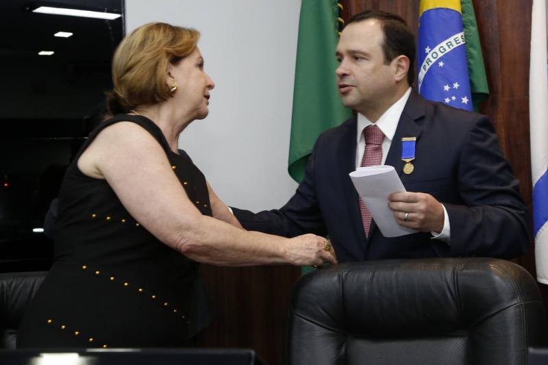 Fatima Veras e Igor Barroso