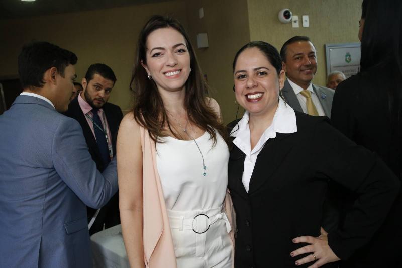 Cecilia Regadas e Ticiana Rodrigues