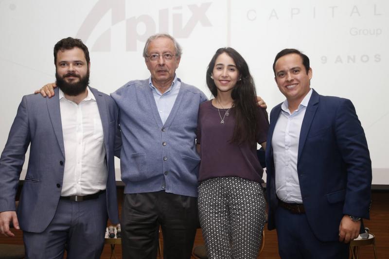 Felipe Romcy, Luiz Alves, Betina Roxo e Yuri Veras 2