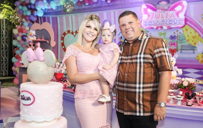 Rá-Tim-Bum - Marina e Gerardo Santos celebram o primeiro aninho da caçula Júlia
