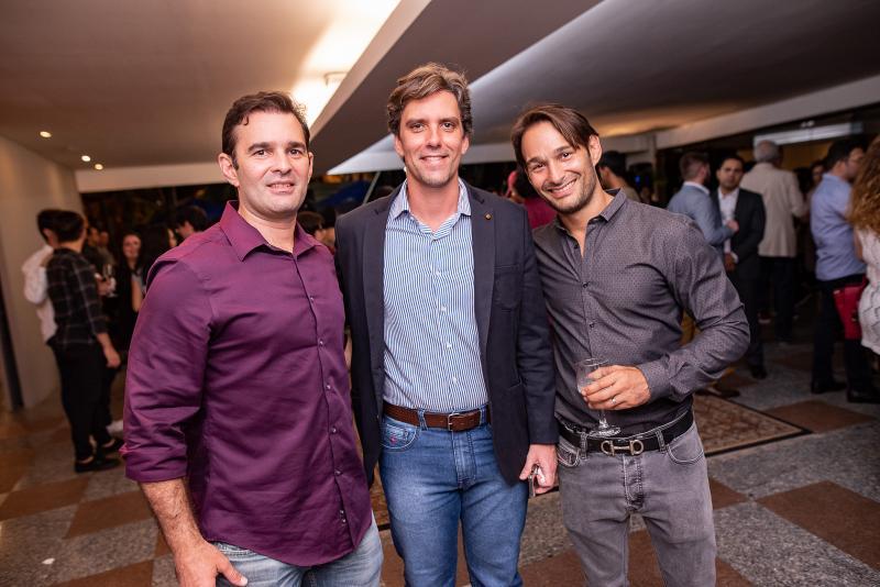 Abelardo Rocha, Ruy do Ceara e Claudio Rocha