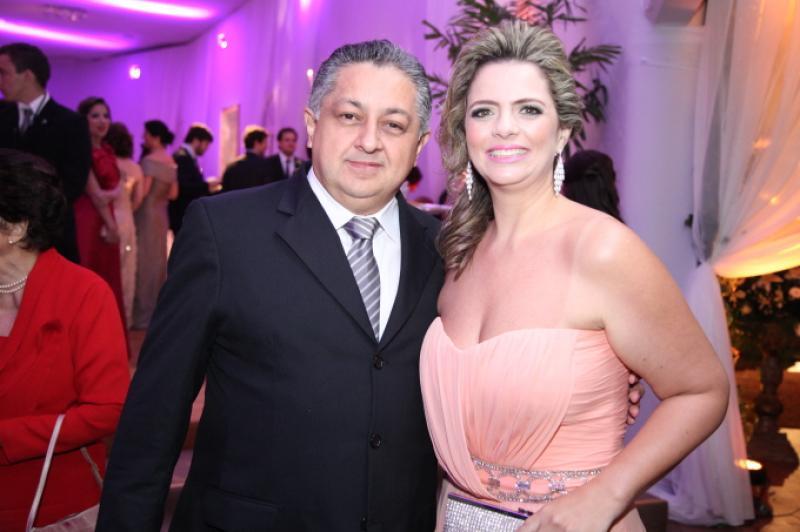 Adriano e Tais Pinto