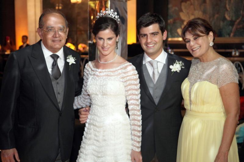 Gilmar Mendes e Guiomar com Beatriz Barata e Chiquinho Feitosa
